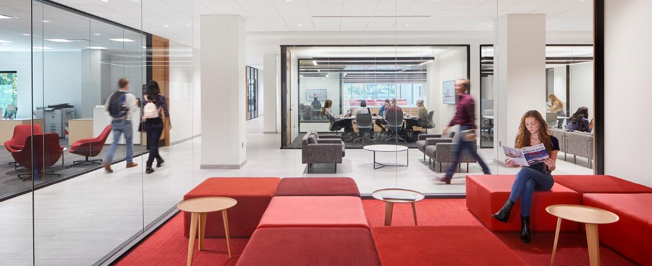 Renderings of Cincinnati Law's new building