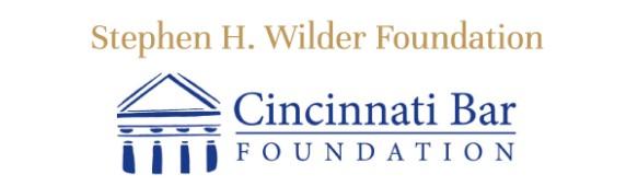 Stephen H. Wilder and Cincinnati Bar Foundation logos